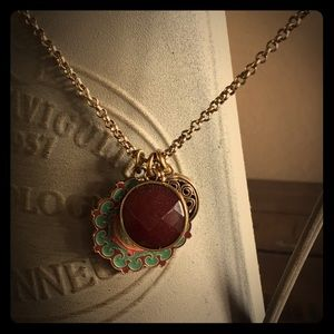 Lucky Brand reversible necklace